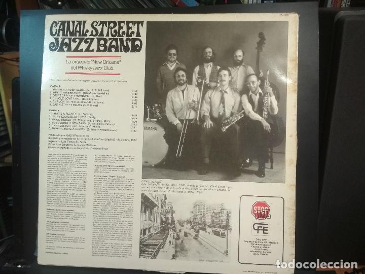 Discos de vinilo: CANAL STREE JAZZ BAND - CANAL STREET JAZZ BAND LP - ORIGINAL ESPAÑOL- CFE 1983 PEPETO - Foto 2 - 212319591