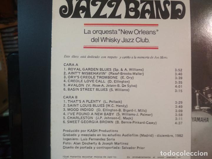 Discos de vinilo: CANAL STREE JAZZ BAND - CANAL STREET JAZZ BAND LP - ORIGINAL ESPAÑOL- CFE 1983 PEPETO - Foto 3 - 212319591