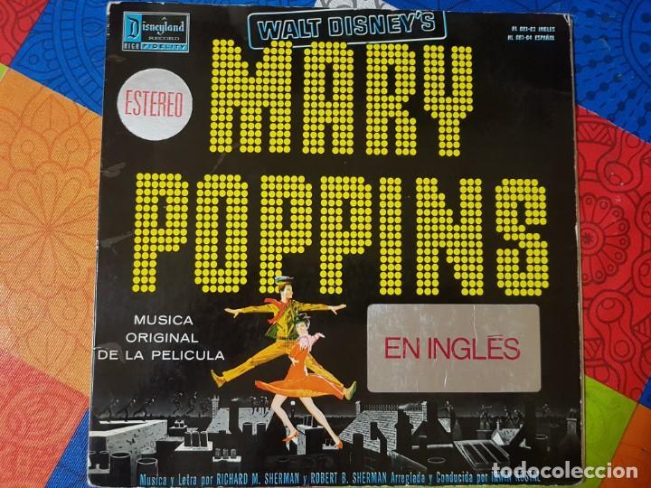 MARY POPPINS. BANDA SONORA ORIGINAL DE LA PELÍCULA EN VINILO DEL AÑO 1963 / 1964. COLECCIONISTAS (Música - Discos - LP Vinilo - Bandas Sonoras y Música de Actores )