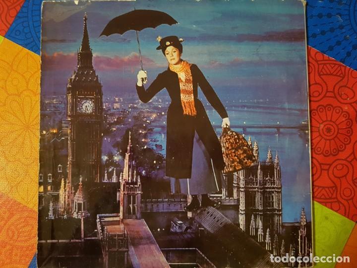 Discos de vinilo: Mary Poppins. Banda Sonora Original de la Película en Vinilo del año 1963 / 1964. Coleccionistas - Foto 4 - 212320333