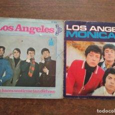 Discos de vinilo: LOS ANGELES - 2 DISCOS SINGLES. Lote 212338217