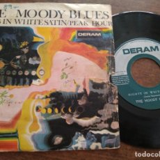 Discos de vinilo: THE MOODY BLUES - 1 DISCO SINGLE. Lote 212338700