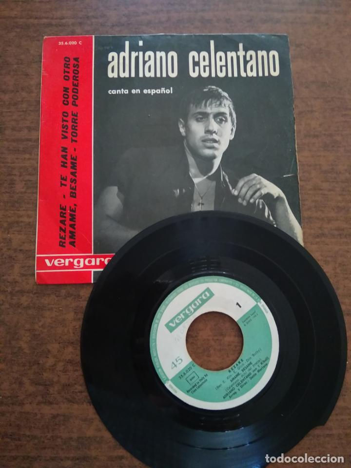 ADRIANO CELENTANO - 1 DISCO SINGLE (Música - Discos - Singles Vinilo - Cantautores Internacionales)