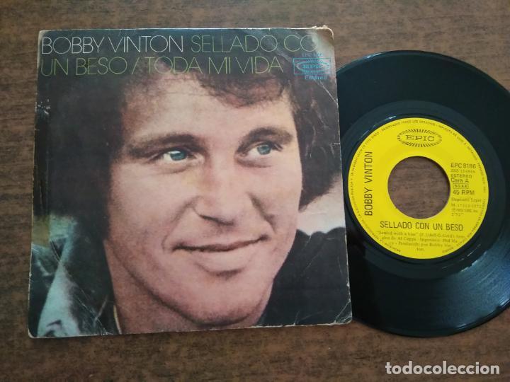 BOBY WINTER - 1 DISCO SINGLE (Música - Discos - Singles Vinilo - Cantautores Extranjeros)