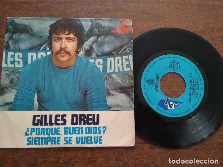 GILLES DREU - 1 DISCO SINGLE (Música - Discos - Singles Vinilo - Cantautores Extranjeros)