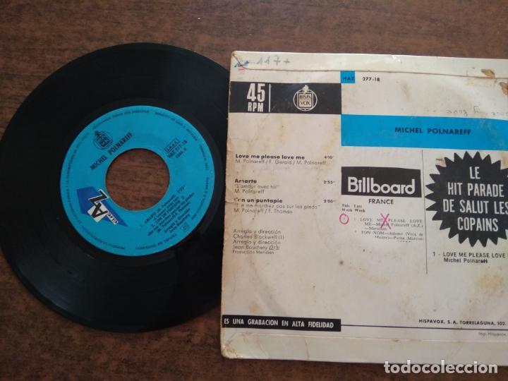 Discos de vinilo: MICHEL POLNAREFF - 1 DISCO SINGLE - Foto 2 - 212342760