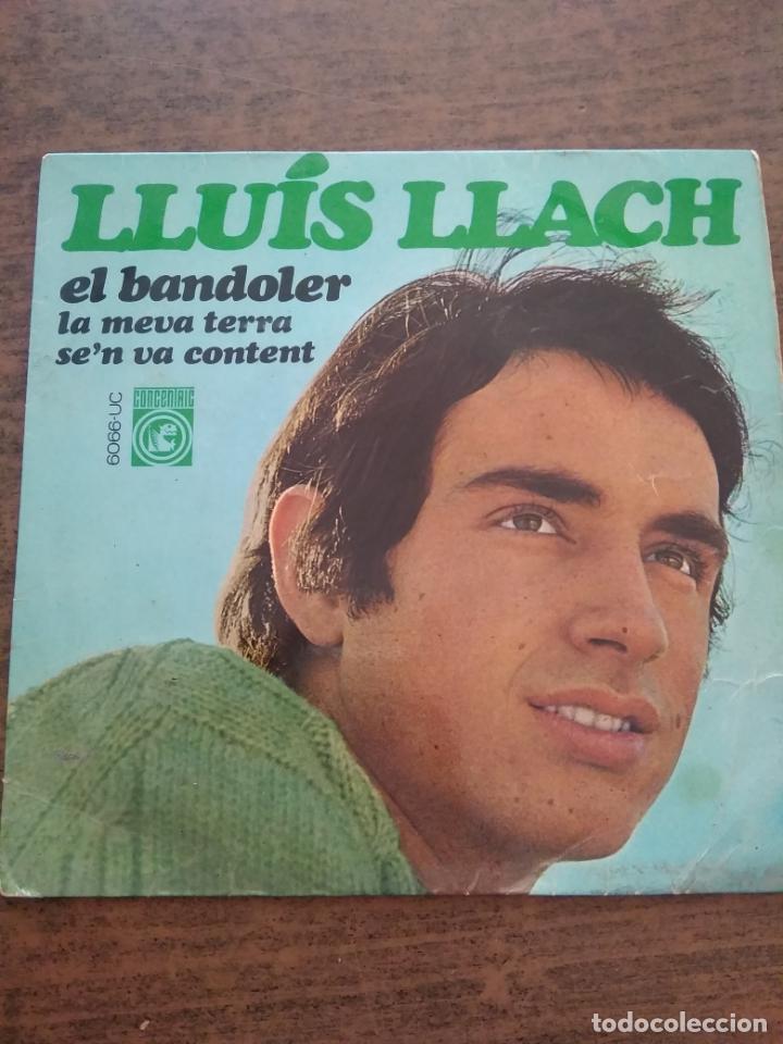 LLUIS LLACH - 1 DISCO SINGLE (Música - Discos - Singles Vinilo - Cantautores Españoles)