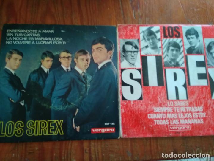 LOS SIREX - 2 DISCOS SINGLES (Música - Discos - Singles Vinilo - Grupos Españoles de los 70 y 80)