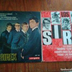 Discos de vinilo: LOS SIREX - 2 DISCOS SINGLES. Lote 212345716