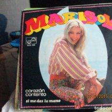 Discos de vinilo: MARISOL ?– CORAZÓN CONTENTO. Lote 212384430