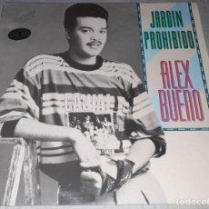Discos de vinilo: MAXI SINGLE - ALEX BUENO - JARDÍN PROHIBIDO - ALEX BUENO - JARDÍN PROHIBIDO / GIGANTE. Lote 212395035