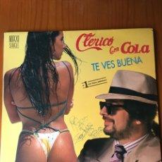 Discos de vinilo: CLERICO CON COLA-TE VES BUENA-1991. Lote 212410802