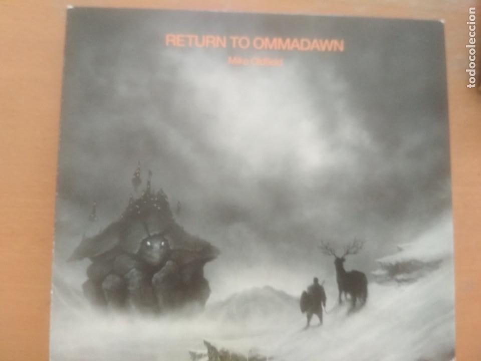 MIKE OLDFIELD RETURN TO OMMADAWN CD+DVD ESTUCHE+LIBRETO (Música - Discos - LP Vinilo - Electrónica, Avantgarde y Experimental)