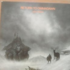 Disques de vinyle: MIKE OLDFIELD RETURN TO OMMADAWN CD+DVD ESTUCHE+LIBRETO. Lote 212411318