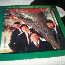 Dischi in vinile: LOS PEKENIKES - GRUPOS PIONEROS ESPAÑOLES - HILO DE SEDA MAYORES EXITOS - 2ª ED. DE 1978. Lote 212414938