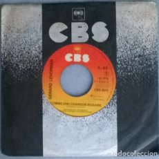 Discos de vinilo: GERARD LENORMAN. VOICI LES CLES/ COMME UNE CHANSON BIZARRE. CBS, HOLLAND 1977 SINGLE. Lote 212428161