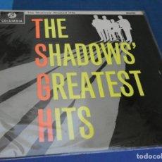 Discos de vinilo: LOTT47 LP UK 1962?? THE SHADOWS GREATEST HITS MONO SORPRENDENTE BUEN ESTADO. Lote 212428630
