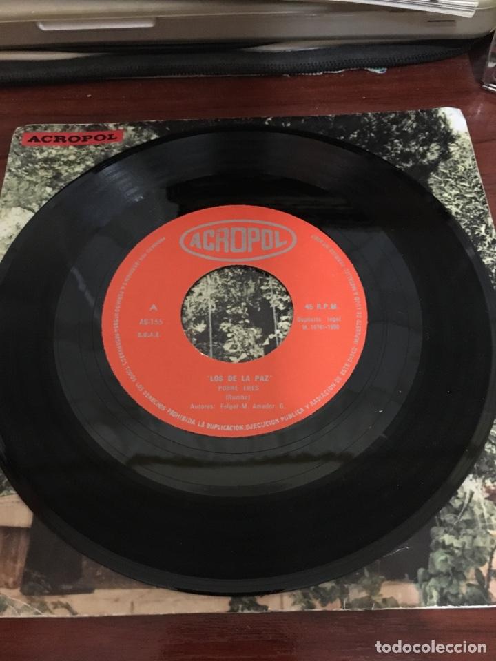 Discos de vinilo: LOS DE LA PAZ-POBRE ERES/LA PAZ-ACROPOL 1980-VINILO NUEVO-INENCONTRABLE Y BUSCADO DISCO-RUMBA PUNK - Foto 3 - 212430216