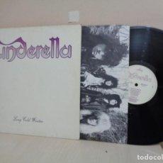 Disques de vinyle: CINDERELLA- LONG GOLD WINTER- 1988 -POLYGRAM- MERCURY- MADE IN HOLLAND--. Lote 212360012