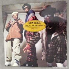 Dischi in vinile: RUN - D.M.C. - WHAT'S IT ALL ABOUT. SINGLE, EDICIÓN UK.. Lote 212483011