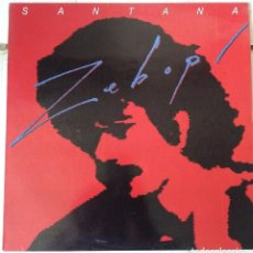 Discos de vinilo: SANTANA-ZEBOP!. Lote 212493447