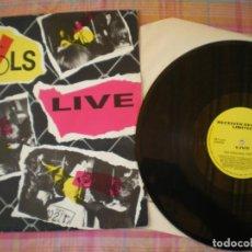 Disques de vinyle: ORIGINAL SEX PISTOLS, LIVE, EDICION INGLESA DE EPOCA,. Lote 212506442