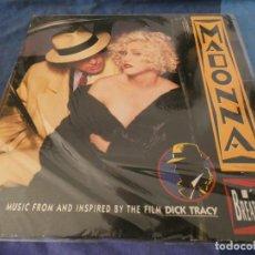 Discos de vinilo: EXPROV LP MADONNA BSO DE LA PELI DICK TRACY BUEN ESTADO UNA PEGATA DETRAS. Lote 212519060