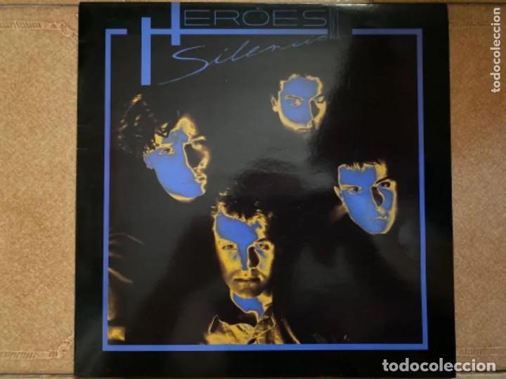 ANTIGUO LP HÉROES DEL SILENCIO HÉROE DE LEYENDA (Música - Discos - LP Vinilo - Grupos Españoles de los 70 y 80)