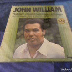 Discos de vinilo: EXPROV LP CHANSONS FRANCESA JOHN WILLIAM IDEM RE DE UN LP DE 1959 BUEN ESTADO. Lote 212524885