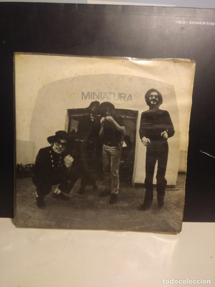 Discos de vinilo: EP MINIATURA ( SISA, PAU RIBA, CACHAS, ALBERT BATISTE ) - Foto 3 - 212526022