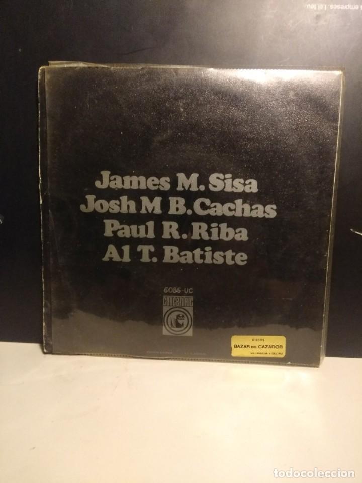 Discos de vinilo: EP MINIATURA ( SISA, PAU RIBA, CACHAS, ALBERT BATISTE ) - Foto 4 - 212526022