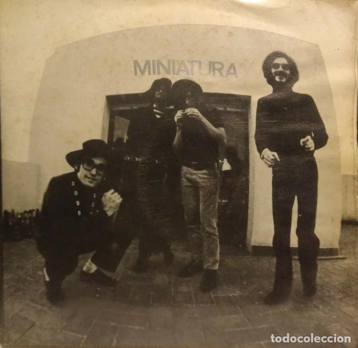 EP MINIATURA ( SISA, PAU RIBA, CACHAS, ALBERT BATISTE ) (Música - Discos - Singles Vinilo - Grupos Españoles de los 70 y 80)