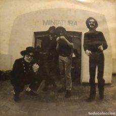 Discos de vinilo: EP MINIATURA ( SISA, PAU RIBA, CACHAS, ALBERT BATISTE ). Lote 212526022
