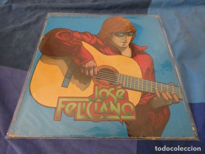 EXPROV LP JOSE FELICIANO ANGELA ESPAÑOL 1976 PEQUEÑAS SEÑALES DE USO AUN ACEPTABLE (Música - Discos - LP Vinilo - Pop - Rock - Internacional de los 70)