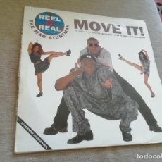 Discos de vinilo: REEL TO REAL FEATURING THE MAS STUNTMAN-MOVE IT! 2 LP. Lote 212533993