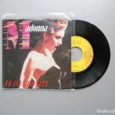 Discos de vinil: MADONNA ?– LA ISLA BONITA SINGLE PROMO RARO 1987 VG+/VG+. Lote 212548578