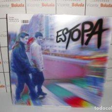 Discos de vinilo: ESTOPA - VINILO DESCATALOGADO - CARPETA DESPLEGABLE NUEVO Y PRECINTADO ENVIÓ CERTIFICADO GRATIS. Lote 263737685