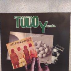 Discos de vinilo: TODO Y NADA. PIONEROS DEL ROCK ANDALUZ. LP VINILO NUEVO.. Lote 212552927