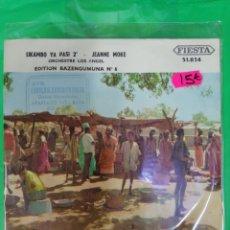 Dischi in vinile: KILAMBO YA PASI 2. JEANNE MOKE. ORCHESTRE LOS ANGEL. BAZENGUMUNA 6. FIESTA. Lote 212562106