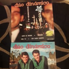 Discos de vinilo: DOS ANTIGUOS VINILOS, DÚO DINÁMICO, DE 1962 Y 1963. Lote 212565825