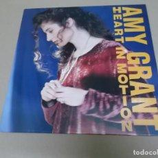 Disques de vinyle: AMY GRANT (LP) HEART IN MOTION AÑO – 1991. Lote 212567541
