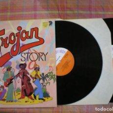 Discos de vinilo: TROJAN STORY , LP DOBLE , EDICION DE EPOCA,. Lote 212569071
