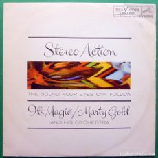 Discos de vinilo: MARTY GOLD & HIS ORCHESTRA: IT´S MAGIC - LP - RCA (VENEZUELA) - 1961 - MUY BUENO (VG+/VG+). Lote 212569432