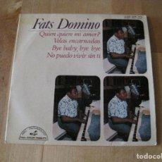 Discos de vinilo: EP FATS DOMINO QUIEN QUIERE MI AMOR HISPAVOX 97 72 SPAIN. Lote 212580312