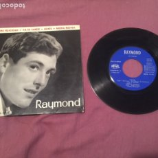 Discos de vinilo: RAYMOND Y SU CONJUNTO / DAME FELICIDAD + 3 (1963). Lote 212581020