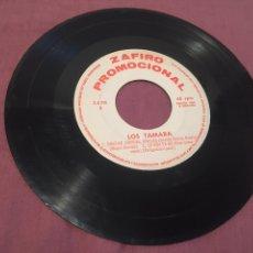 Discos de vinilo: DISCO PROMOCIONAL / LOS TAMARA - GRACIAS, GRACIAS, GRACIAS - 1966 - ZAFIRO. Lote 212581773