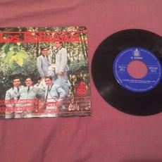 Discos de vinilo: LOS BOHEMIOS - EP EDITADO EN ESPAÑA - LA POLLERA COLORA + 3 - HISPAVOX 1965. Lote 212582047