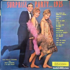 Disques de vinyle: LAS DOLLY SISTERS CON ROY CAPONE Y SU JAZZ BAND LP EDIC ESPAÑOLA. Lote 212597675