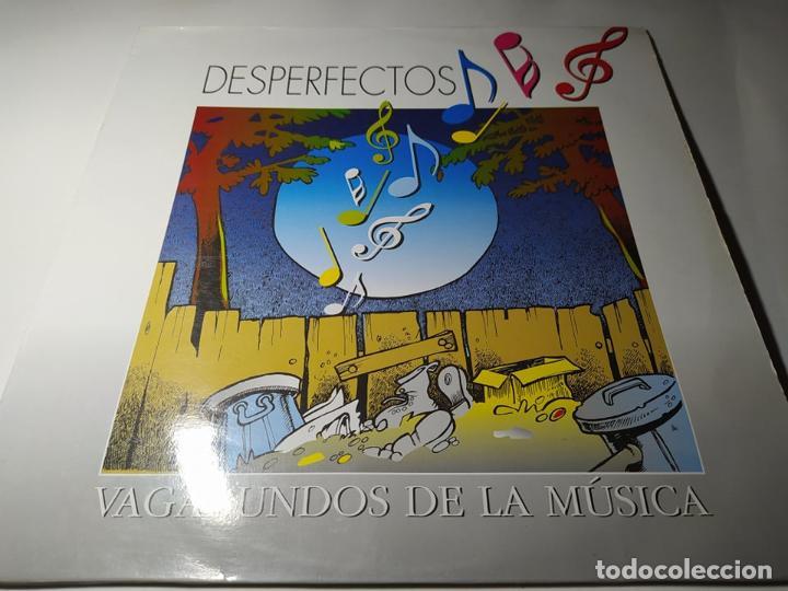 LP - DESPERFECTOS – VAGABUNDOS DE LA MÚSICA - PLP-011 (VG+/ VG+) SPAIN 1993 (Música - Discos - LP Vinilo - Grupos Españoles de los 90 a la actualidad)