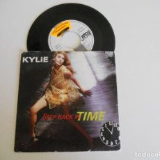 Dischi in vinile: KYLIE MINOGUE ‎– STEP BACK IN TIME SINGLE 1990 VG++/VG++. Lote 212600606